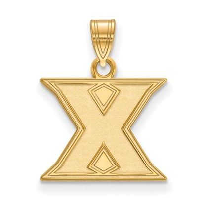 Picture of Xavier University Musketeers 14k Yellow Gold Small Pendant