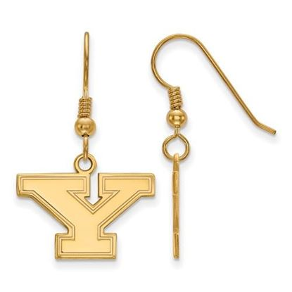 Picture of Youngstown State University Penguins Sterling Silver Gold Plated Small Dangle Earrings