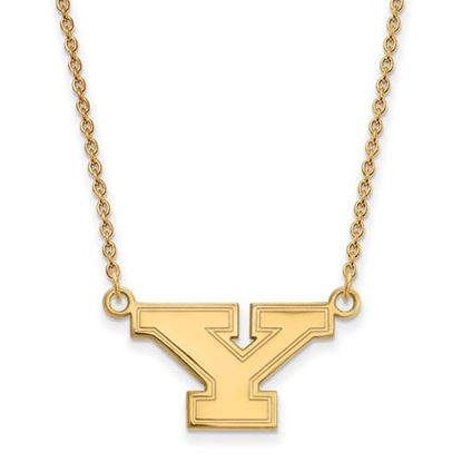 Picture of Youngstown State University Penguins 10k Yellow Gold Small Necklace