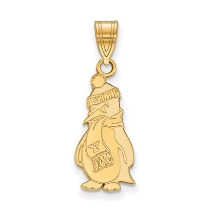 Picture of Youngstown State University Penguins 10k Yellow Gold Large Pendant