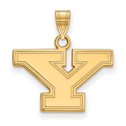 Picture of Youngstown State University Penguins Sterling Silver Gold Plated Small Pendant