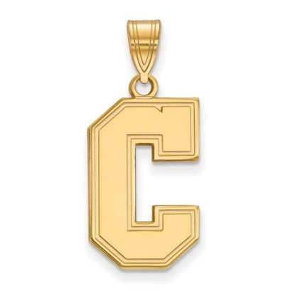 Picture of College of Charleston Cougars Sterling Silver Gold Plated Large Pendant