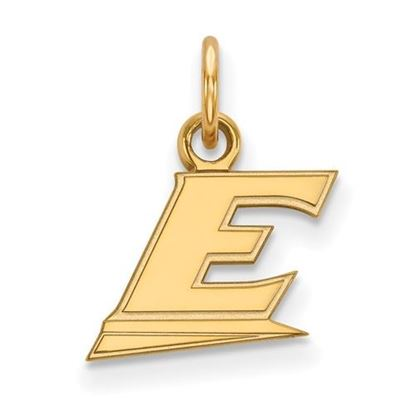 Picture of Eastern Kentucky University Pirates Sterling Silver Gold Plated Extra Small Pendant