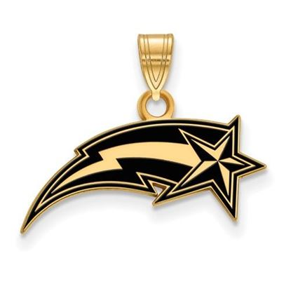 Picture of George Mason University Patriots Sterling Silver Gold Plated Small Enameled Pendant