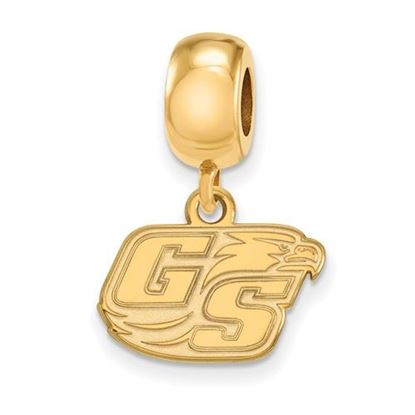 Picture of Georgia Southern University Eagles Sterling Silver Gold Plated Extra Small Bead Charm