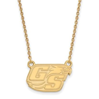 Picture of Georgia Southern University Eagles Sterling Silver Gold Plated Small Necklace