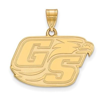 Picture of Georgia Southern University Eagles Sterling Silver Gold Plated Medium Pendant