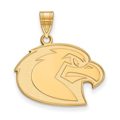 Picture of Marquette University Golden Eagles Sterling Silver Gold Plated Large Pendant