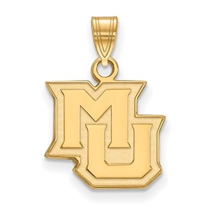 Picture of Marquette University Golden Eagles Sterling Silver Gold Plated Small Pendant
