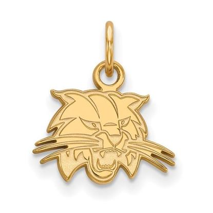 Picture of Ohio University Bobcats Sterling Silver Gold Plated Extra Small Pendant