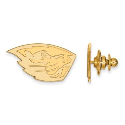 Picture of Oregon State University Beavers Sterling Silver Gold Plated Lapel Pin
