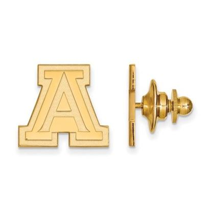 Picture of University of Arizona Wildcats Sterling Silver Gold Plated Lapel Pin