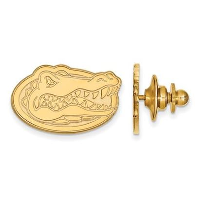 Picture of University of Florida Gators Sterling Silver Gold Plated Lapel Pin