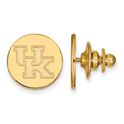 Picture of University of Kentucky Wildcats Sterling Silver Gold Plated Lapel Pin