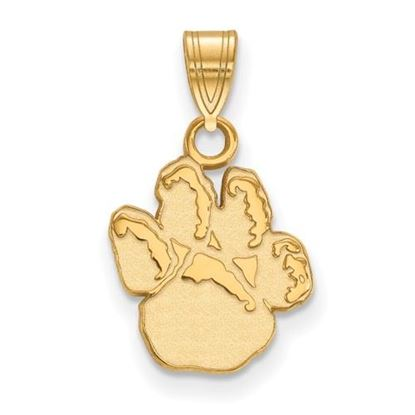 Picture of University of Pittsburgh Panthers Sterling Silver Gold Plated Small Pendant