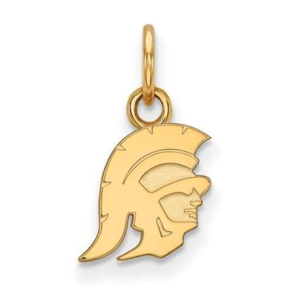Picture of University of Southern California Sterling Silver Gold Plated Extra Small Pendant