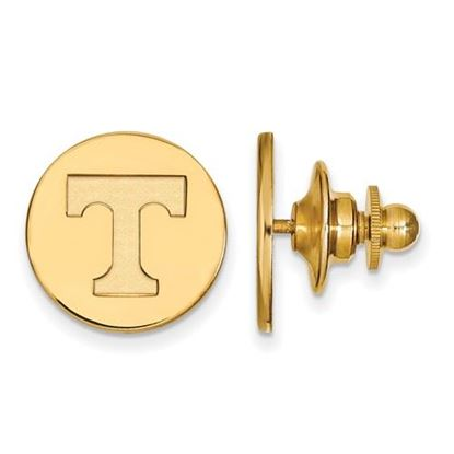 Picture of University of Tennessee Volunteers Sterling Silver Gold Plated Lapel Pin