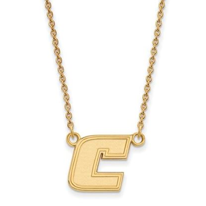 Picture of University of Tennessee at Chattanooga Mocs Sterling Silver Gold Plated Small Necklace
