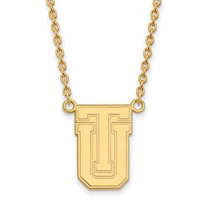 Picture of University of Tulsa Golden Hurricanes Sterling Silver Gold Plated Large Necklace