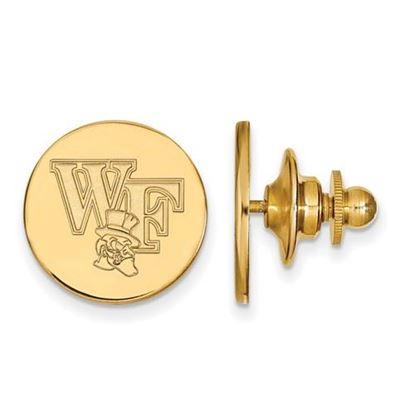 Picture of Wake Forest University Demon Deacons Sterling Silver Gold Plated Lapel Pin