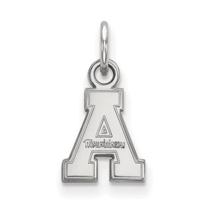 Picture of Appalachian State University Mountaineers Sterling Silver Extra Small Pendant