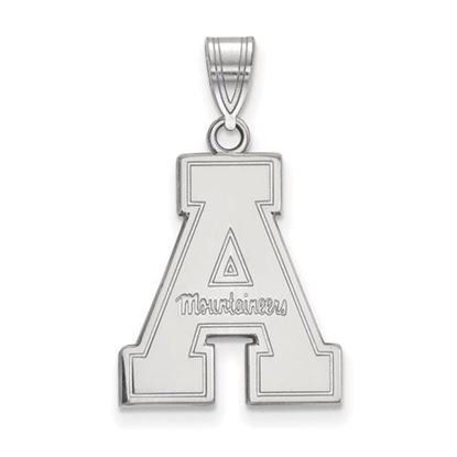 Picture of Appalachian State University Mountaineers Sterling Silver Large Pendant