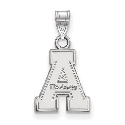 Picture of Appalachian State University Mountaineers Sterling Silver Small Pendant