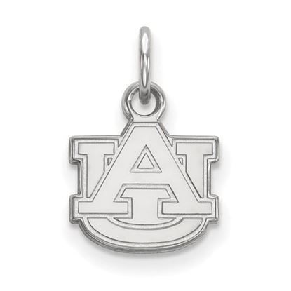 Picture of Auburn University Tigers Sterling Silver Extra Small Pendant