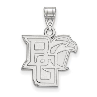 Picture of Bowling Green State University Falcons Sterling Silver Medium Pendant