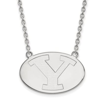 Picture of Brigham Young University Cougars 14k Sterling Silver Large Necklace