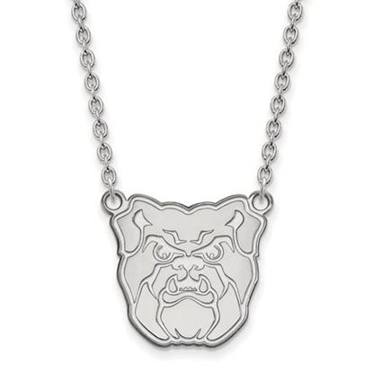 Picture of Butler University Bulldogs Sterling Silver Large Necklace
