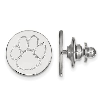 Picture of Clemson University Tigers Sterling Silver Lapel Pin