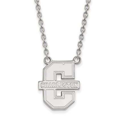 Picture of College of Charleston Cougars Sterling Silver Large Necklace