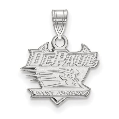 Picture of DePaul University Blue Demons Sterling Silver Small Pendant