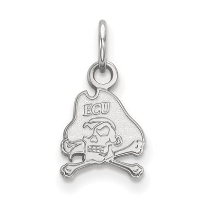 Picture of East Carolina University Pirates Sterling Silver Extra Small Pendant