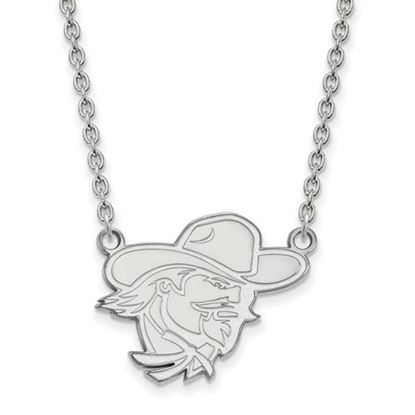 Picture of Eastern Kentucky University Pirates Sterling Silver Large Necklace