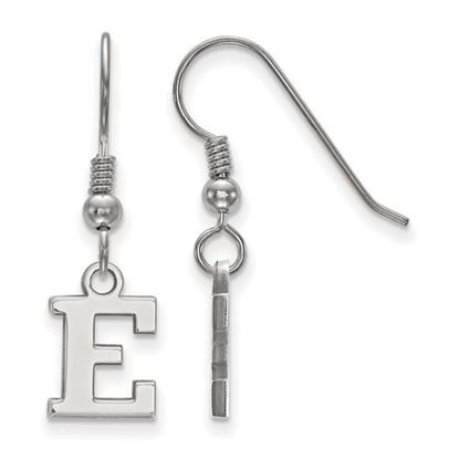 Picture of Eastern Michigan University Eagles Sterling Silver Extra Small Dangle Earrings