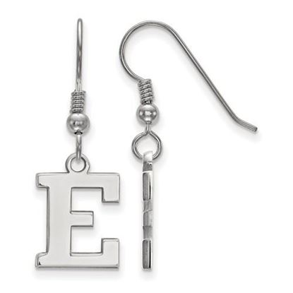 Picture of Eastern Michigan University Eagles Sterling Silver Small Dangle Earrings