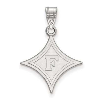 Picture of Furman University Paladins Sterling Silver Large Pendant