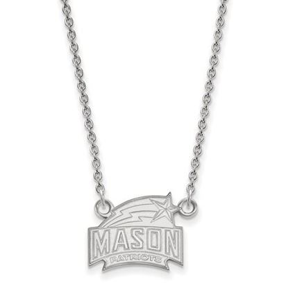 Picture of George Mason University Patriots Sterling Silver Small Necklace