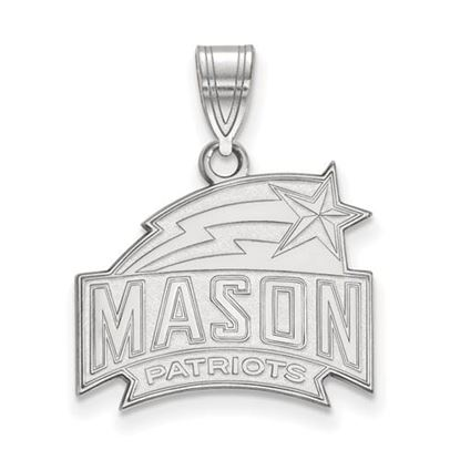 Picture of George Mason University Patriots Sterling Silver Medium Pendant
