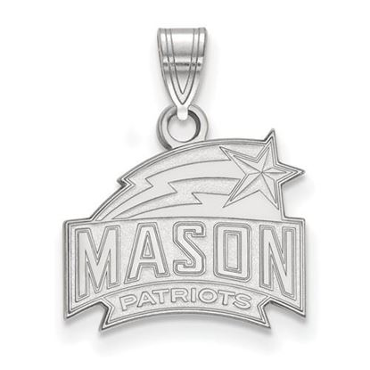 Picture of George Mason University Patriots Sterling Silver Small Pendant