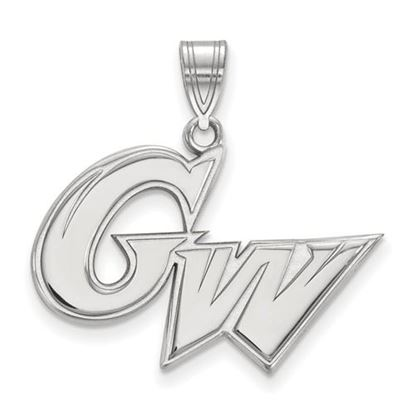 Picture of The George Washington University Colonials Sterling Silver Large Pendant