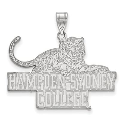 Picture of Hampden-Sydney College Tigers Sterling Silver Extra Large Pendant