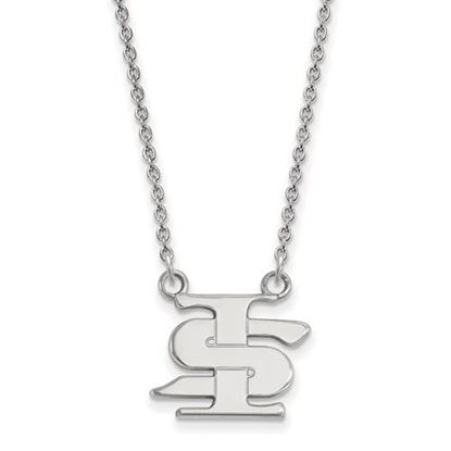 Picture of Indiana State University Sycamores Sterling Silver Small Necklace