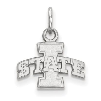 Picture of Iowa State University Cyclones Sterling Silver Extra Small Pendant