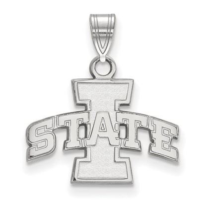 Picture of Iowa State University Cyclones Sterling Silver Small Pendant