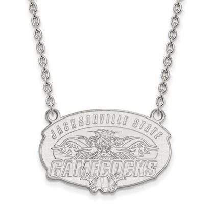 Picture of Jacksonville State University Gamecocks Sterling Silver Large Necklace