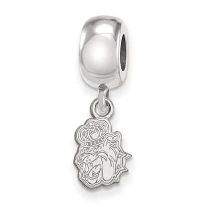 Picture of James Madison University Dukes Sterling Silver Extra Small Bead Charm