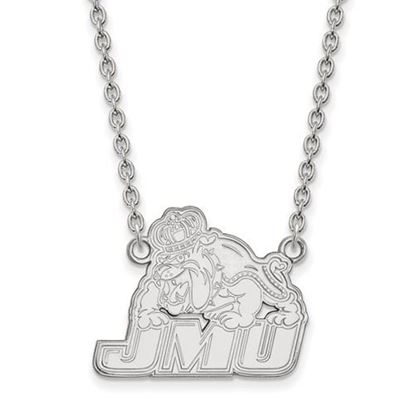 Picture of James Madison University Dukes Sterling Silver Large Necklace